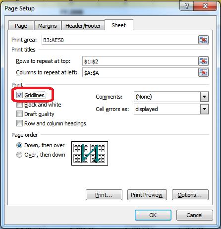 Printing Those Monster Excel Sheets Legal Office Guru