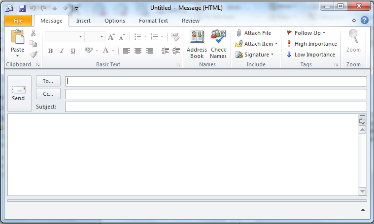 Make your Outlook email messages un-ignorable - Legal Office Guru